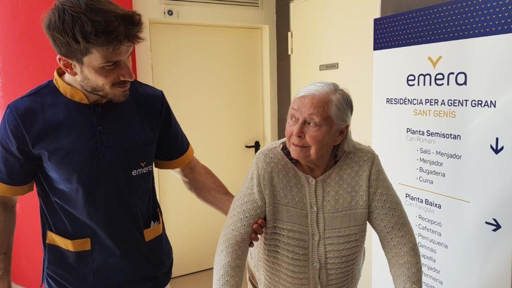 fisioterapia en personas mayores residencia emera sant genis