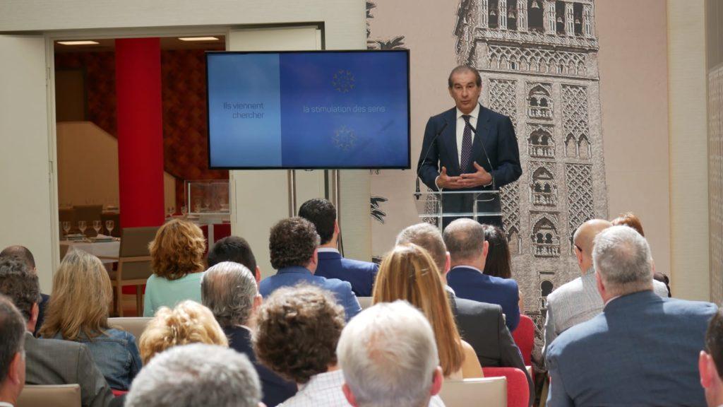 Presentación del grupo Emera España por su vicepresidente Jorge Galera.