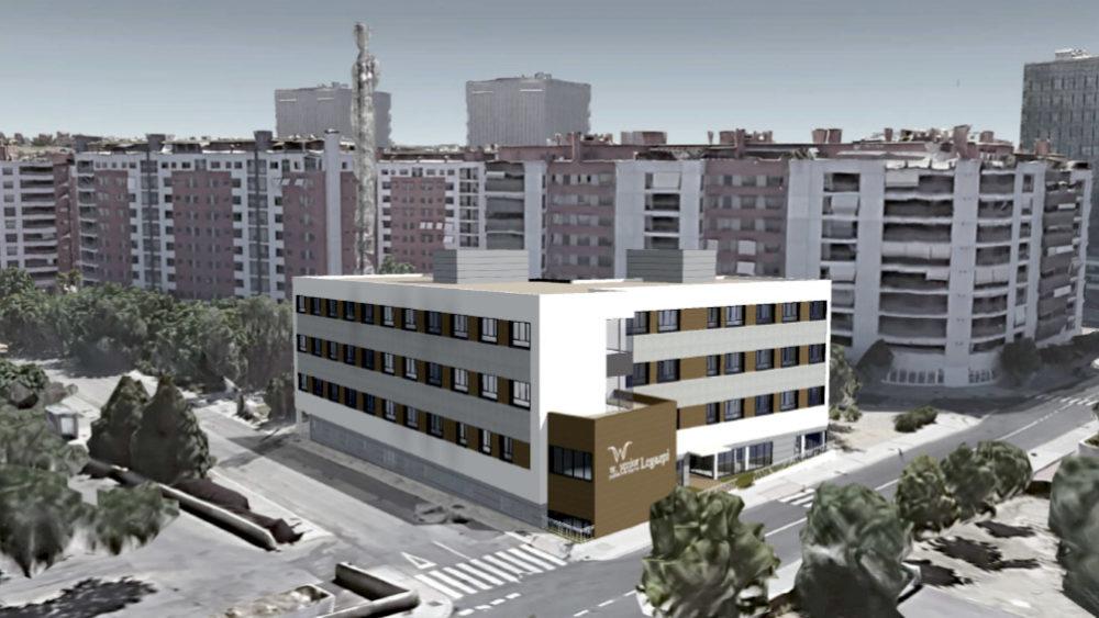 Residencia mayores Madrid Legazpi