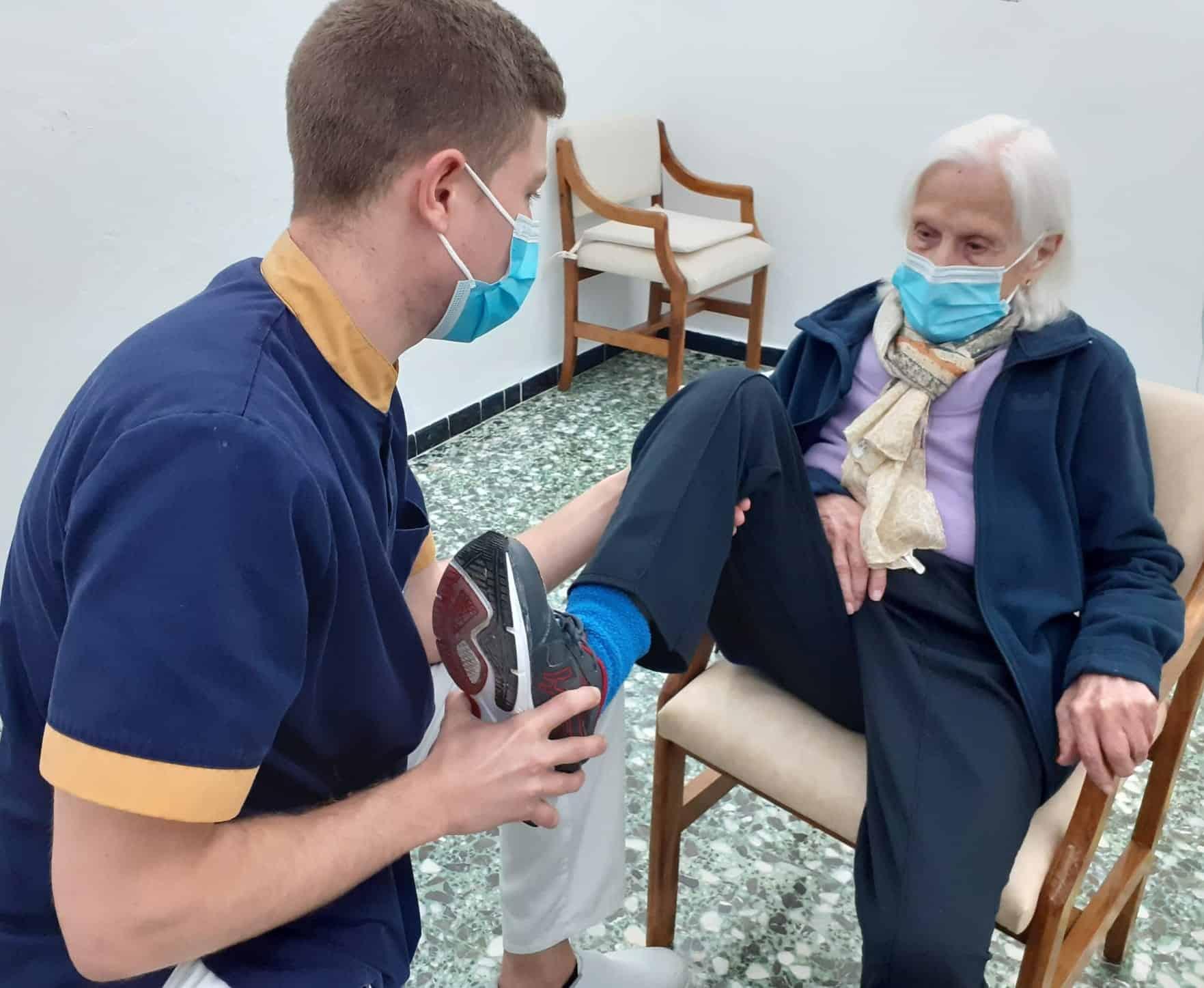 fisioterapia residencia de mayores