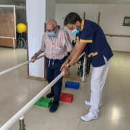 fisioterapia residencia de ancianos España