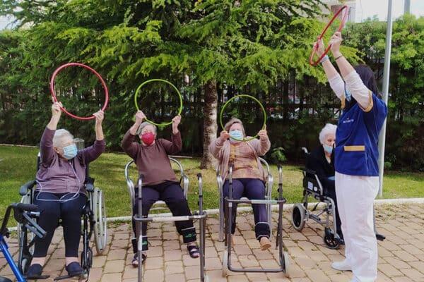 fisioterapia Residencia de ancianos