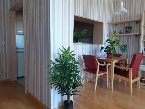 Apartamentos para mayores Emera Guadalajara-sala-estar