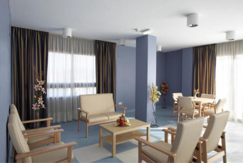 Residencia para mayores Emera Guadalajara-salon